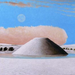 Silbury in the Snow