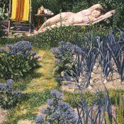 Figure in the Garden