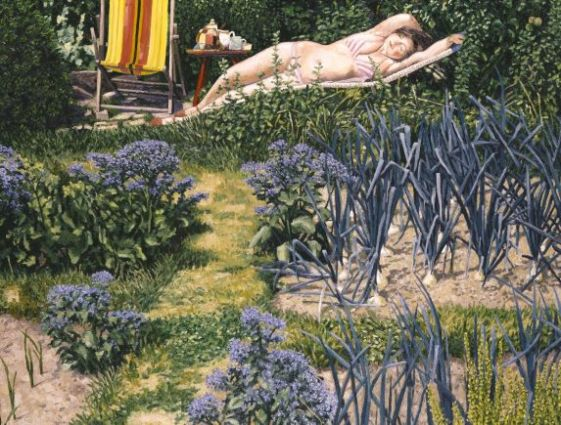 Figure in the Garden