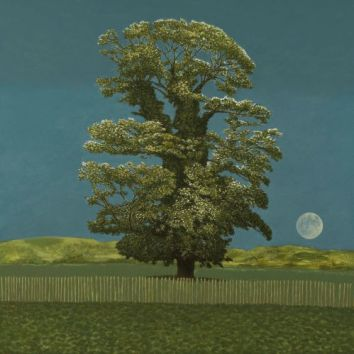 Avebury Tree and Moon