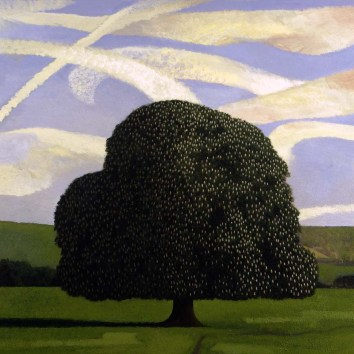 Chestnut Tree and Clouds
